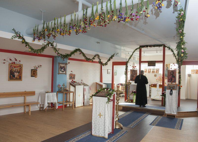 Myllypuron kappeli, kirkas viikko 2015