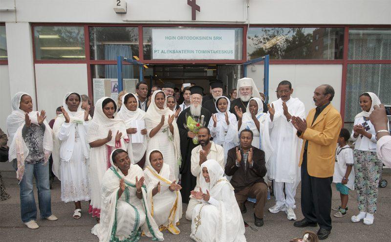 Patriarkan vierailu Mellunmäessä 2013